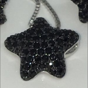 Jewelry - 🆕S925 Untreated Spinel Star 14mm Pendant NO CHAIN